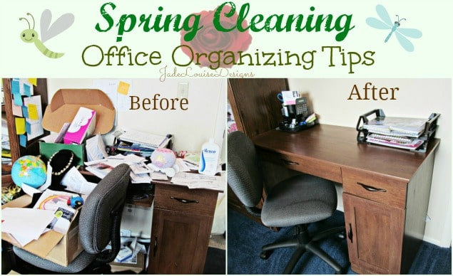 Spring cleaning begins office organizing tips to get you back to work and out of chaos - Office opslag tip ...