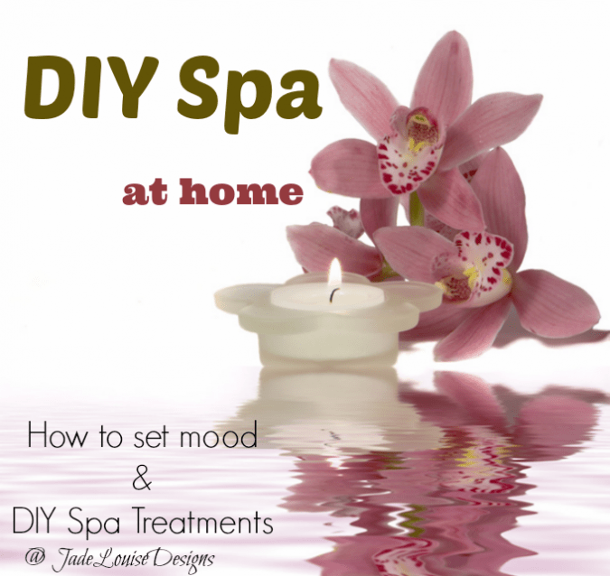 DIY Spa: How to Create a spa environment at home with Essential Oils + DIY Spa Treatments