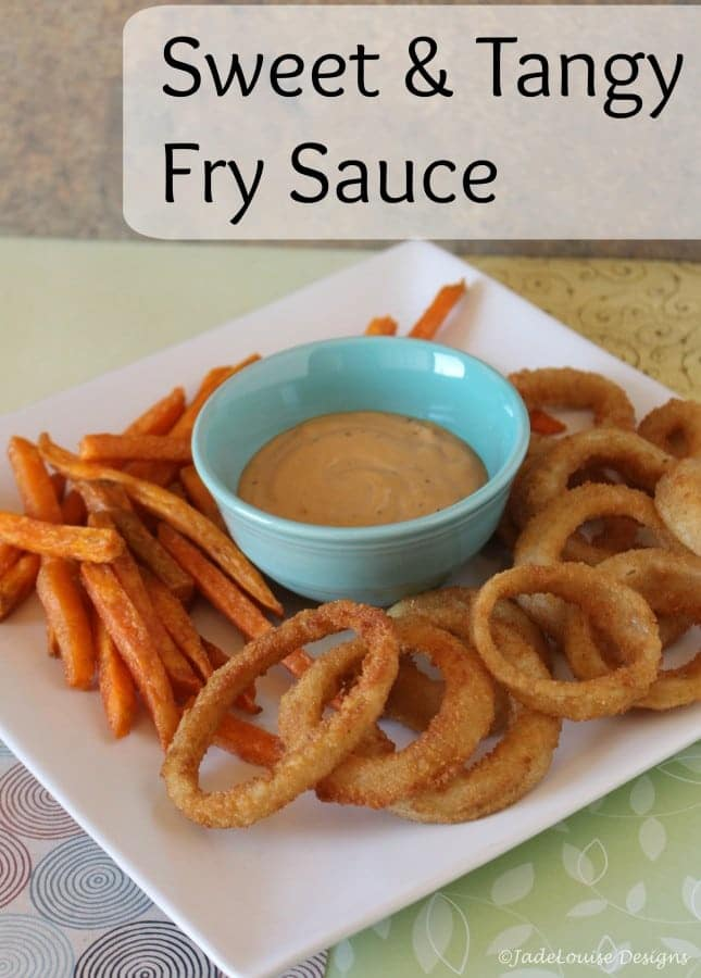 Sweet and Tangy Fry sauce
