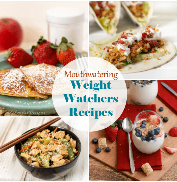 Weight Watchers Recipes, To take control over your eating