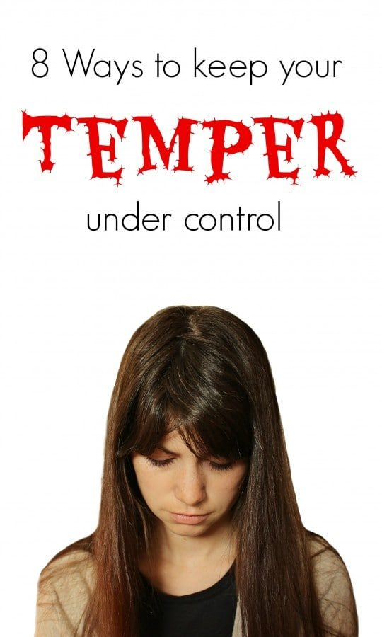 How to Keep You Temper Under Control
