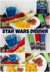 Easy Star Wars Dinner make a hit with kids! #Youknowyouloveit