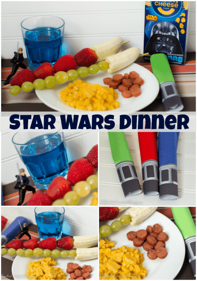 Easy Star Wars Dinner make a hit with kids!
