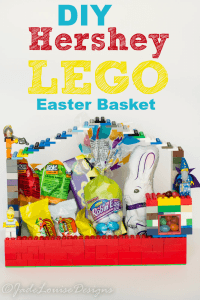 DIY LEGO Easter Basket Idea