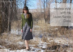 Timeless Style with a Karina Dress #Frockstar
