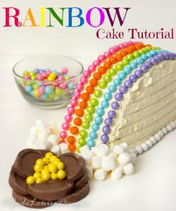 Rainbow Cake Tutorial