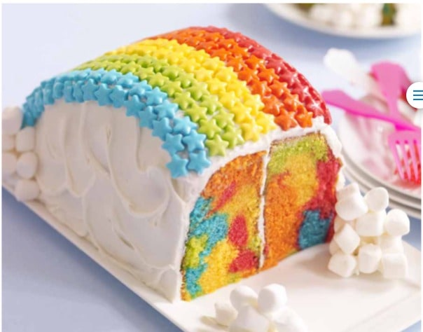 Rainbow Cake Tutorial plus Sweetworks Cake My Day