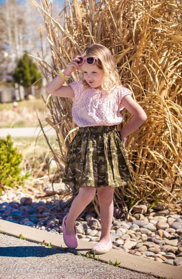 OshKosh B'Gosh Inspired Kids Spring Fashion #ImagineSpring