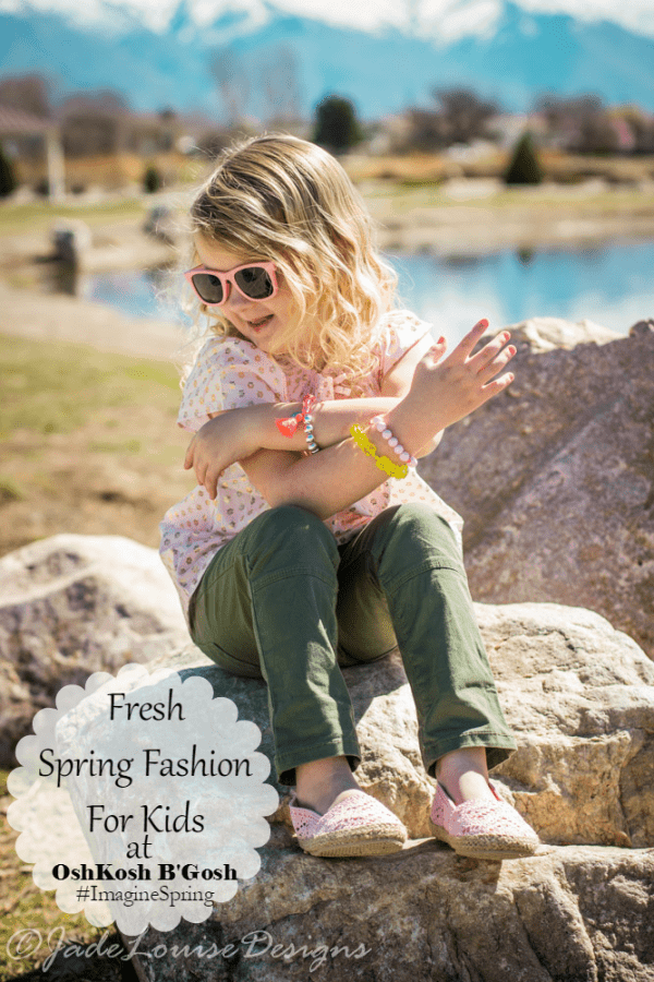 OshKosh B'Gosh Inspired Kids Spring Fashion #ImagineSpring