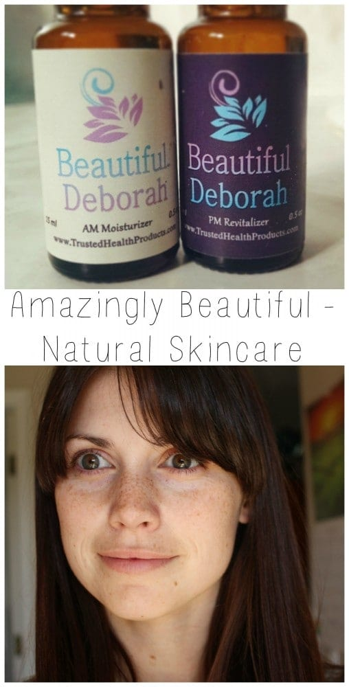 Amazingly Beautiful - Natural Skincare products through Trusted Health Products.