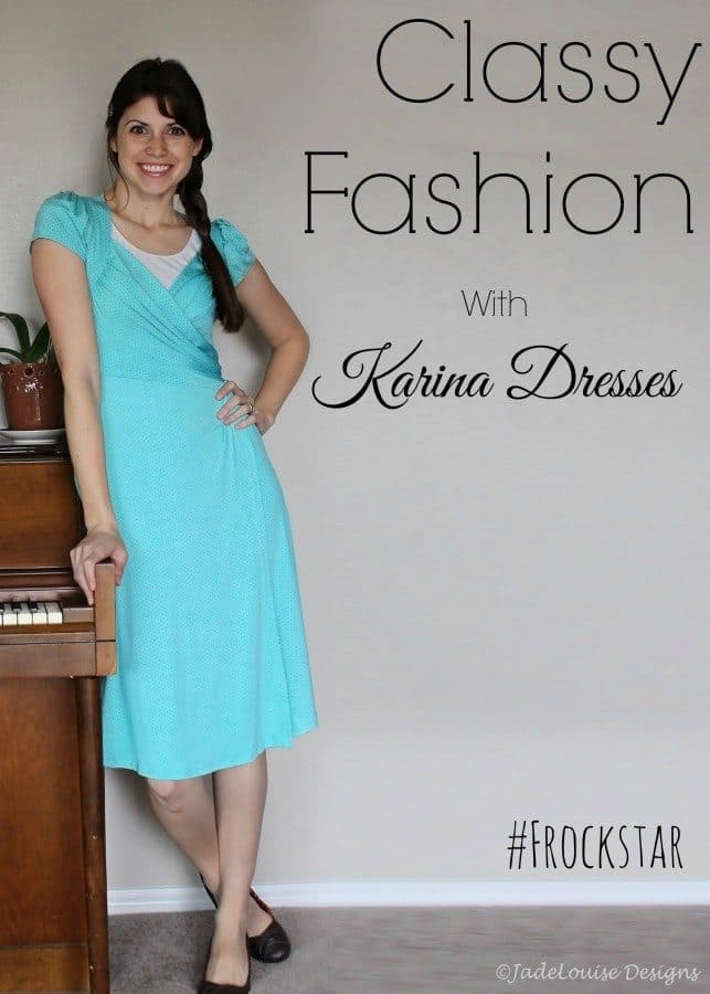 Classy Fashion with Karina Dresses #frockstar