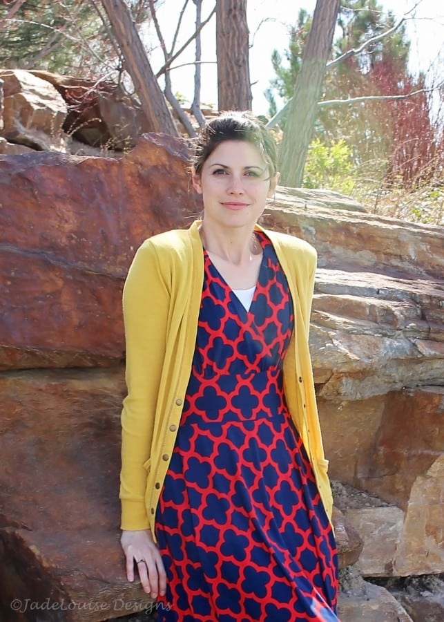 Frockstar Dress with clover design
