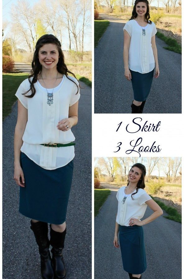 One skirt, three looks! #Frockstar