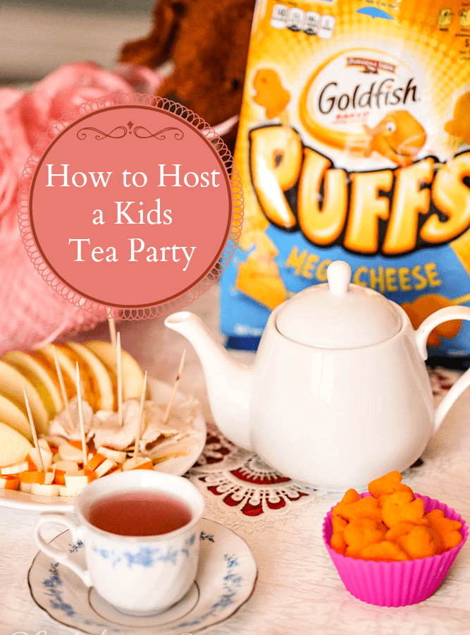 How to Host a Simple Kids Tea Party