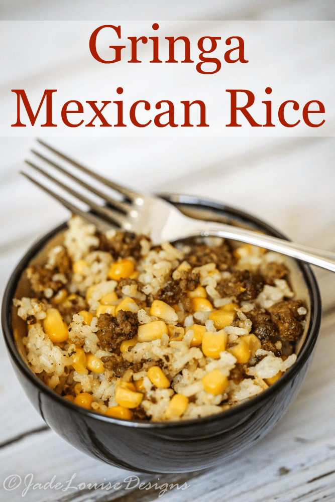 Gringa Mexican rice Recipe