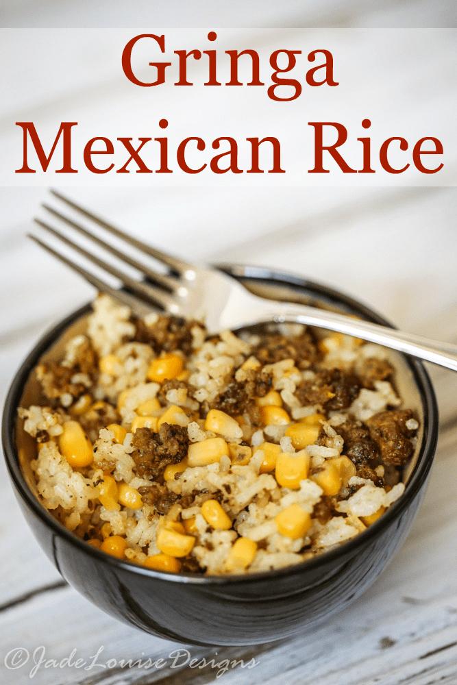 Gringa Mexican rice Recipe