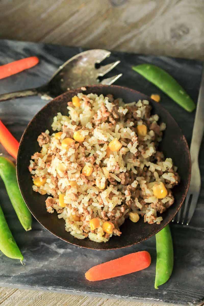 Homemade Dirty Rice Recipe an Easy Hamburger Mexican Rice Recipe