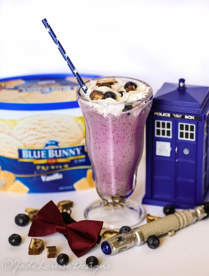 Doctor Who Candy Bar Shake Recipe