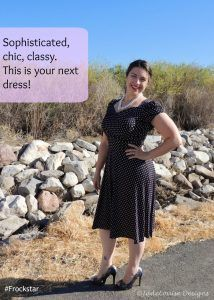 The Dress You Can Always Feel Beautiful In! #Frockstar