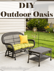 DIY Outdoor Oasis with Pier 1 Imports