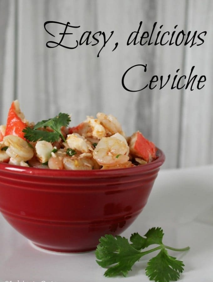 Easy Ceviche Recipe