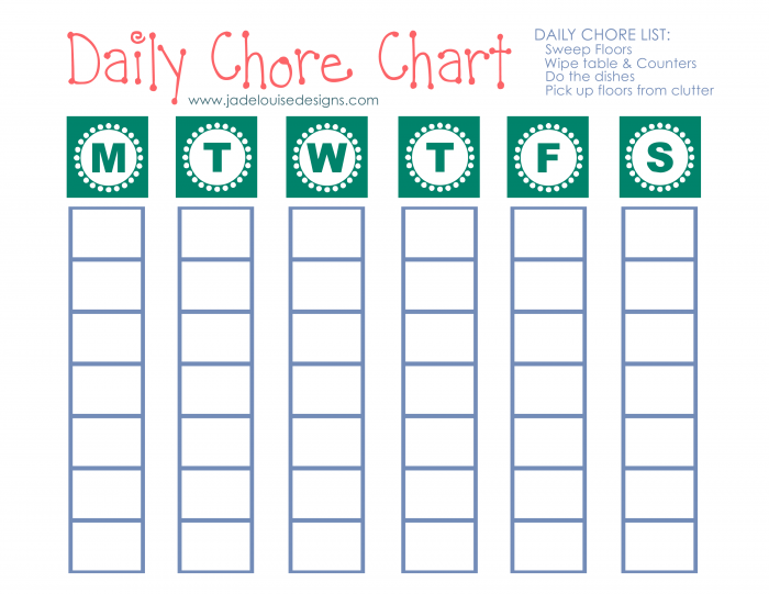 photo regarding Printable Chore Chart for Kids identified as Cleansing Pointers in the direction of Protect against Allergy symptoms + Printable Chore Chart