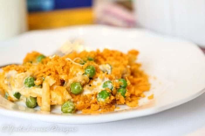 KRAFT Macaroni & Cheese Chicken Casserole #Youknowyouloveit