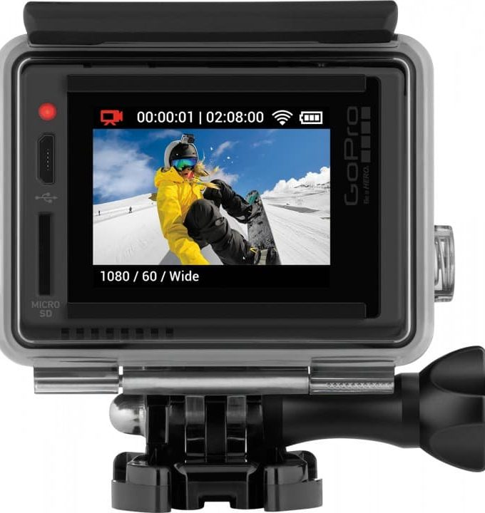 Best Father's Day Tech Gift GoPro HERO + LCD camera at Best Buy