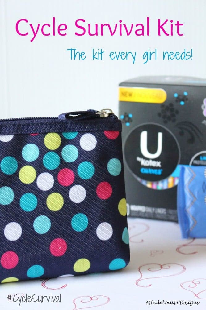 Cycle Survival Kit - what every girl needs