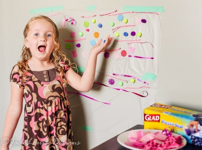 Sensory Art Project for Child Development