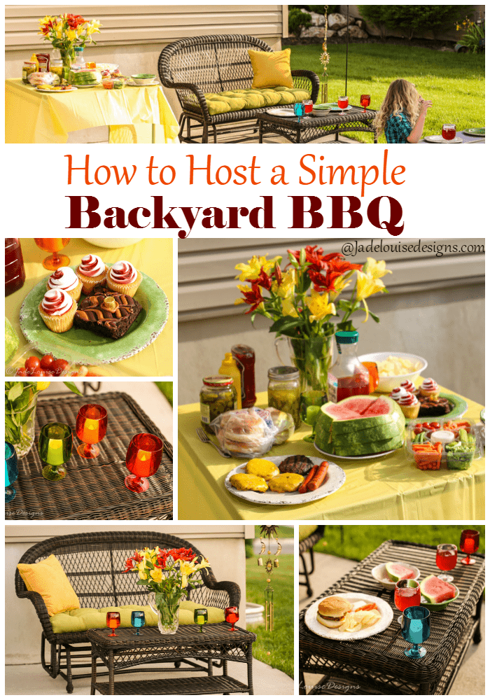 How to host a Backyard BBQ with Pier 1 Imports