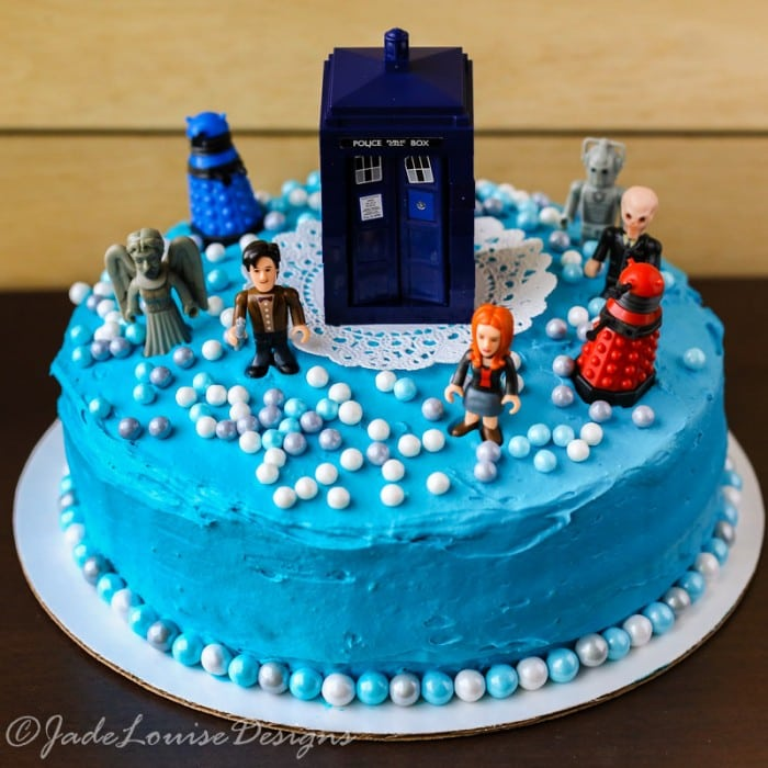 Tremendous Doctor Who Cake Tutorial Perfect Birthday Cake Idea Funny Birthday Cards Online Inifofree Goldxyz
