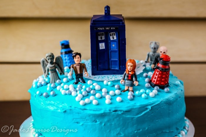 Doctor Who Cake Tutorial perfect Birthday Cake Idea