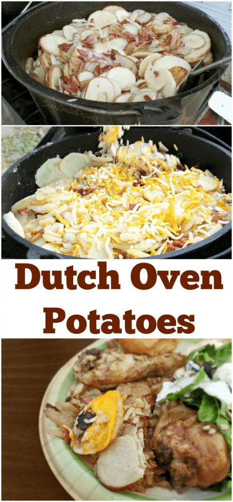 Dutch Oven Potatoes Recipe, Camp Cooking Favorite