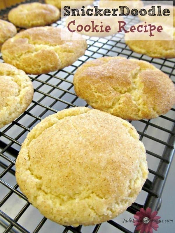 Snickerdoodle Recipe, Family favorite cookie