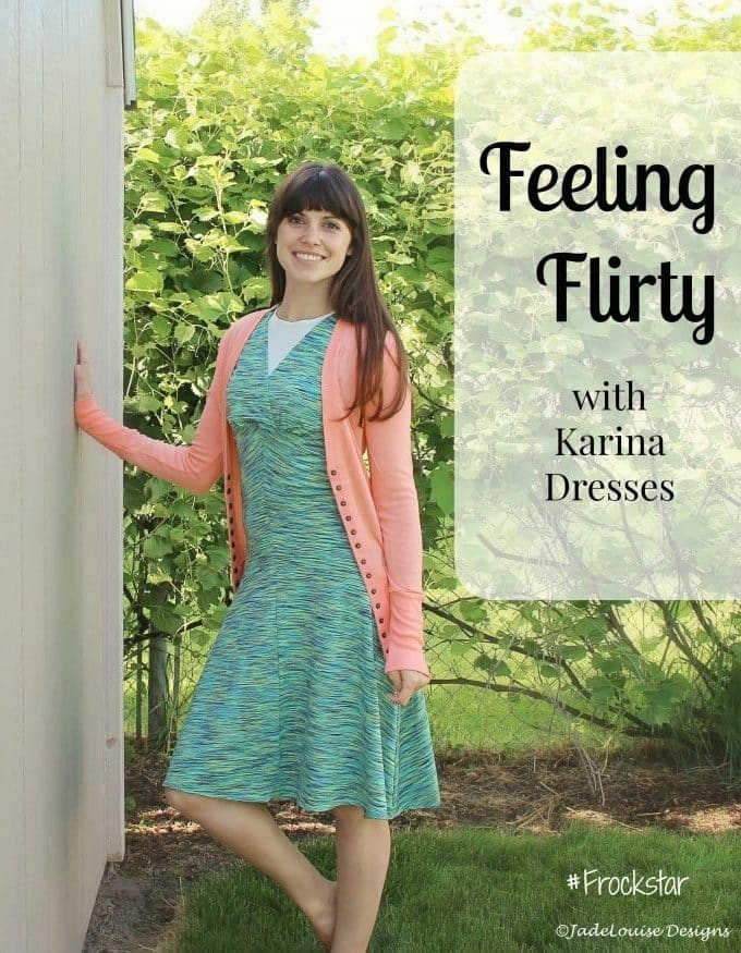 Feeling Flirty with Karina Dresses #frockstar