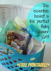 The Perfect Baby Shower Gift – *Plus Free Printable!*