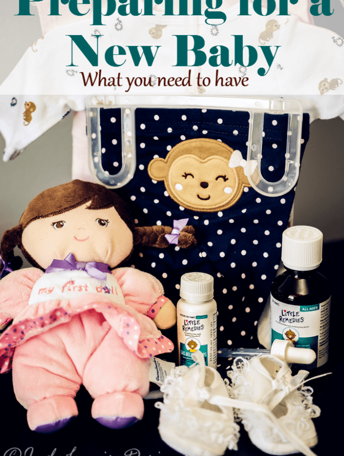 Preparing for a New Baby, What you need on hand