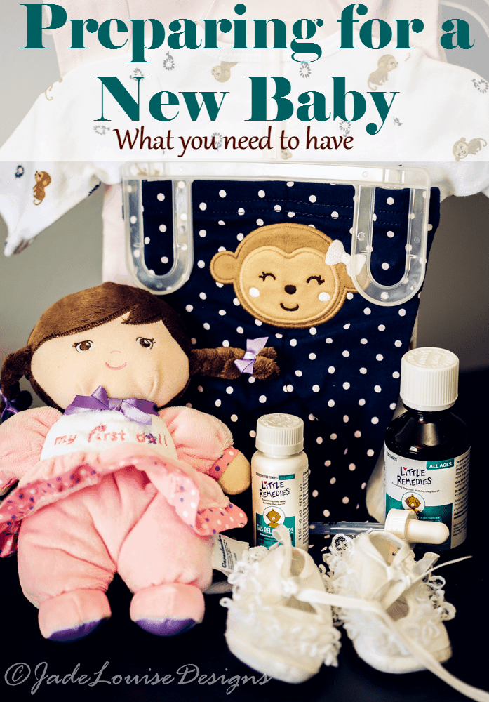 Preparing for a New Baby, What you need on hand little remedies
