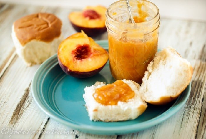 Natural Maple Peach Jam Recipe