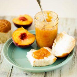 Natural Maple Peach Jam Recipe