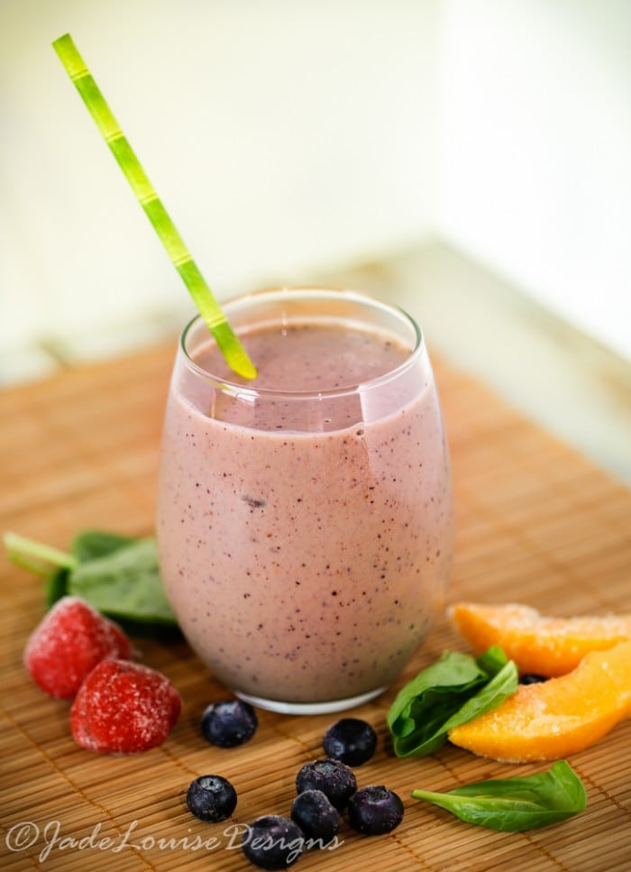 Berries Gone Wild Fruit Smoothie