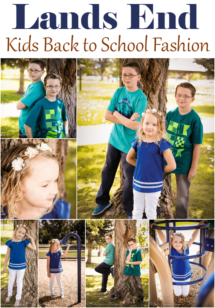 Lands End Durable fashion for back to school