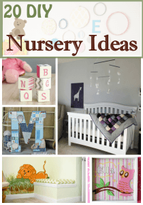 20 Beautiful DIY Nursery Ideas