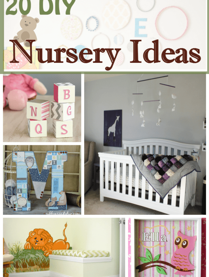 20 Beautiful Nursery Ideas