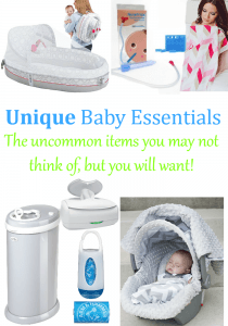 Unique Baby Essentials you may not know