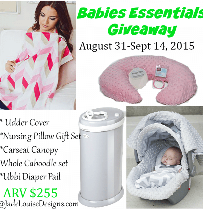 Grand Baby Essentials Giveaway Too Cool for Drool Giveaway Hop!