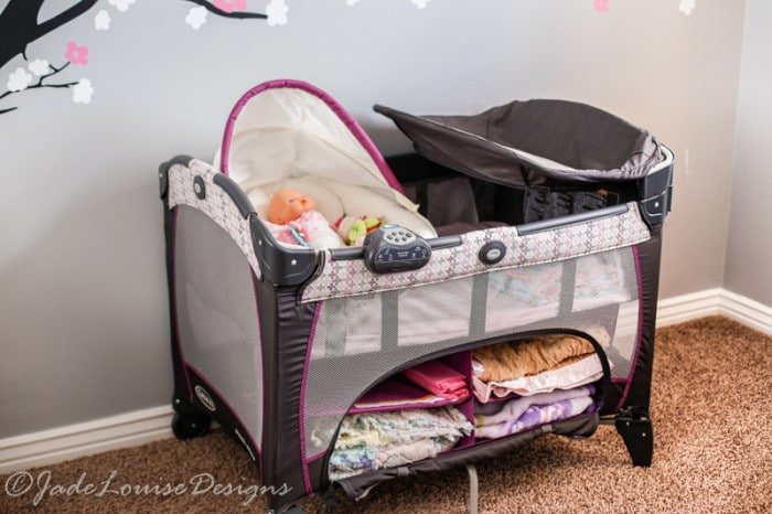 Nursery Reveal - Baby Room Ideas for sleeping corner