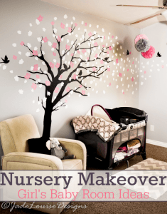 Nursery Reveal – Baby Room Ideas for sleeping corner