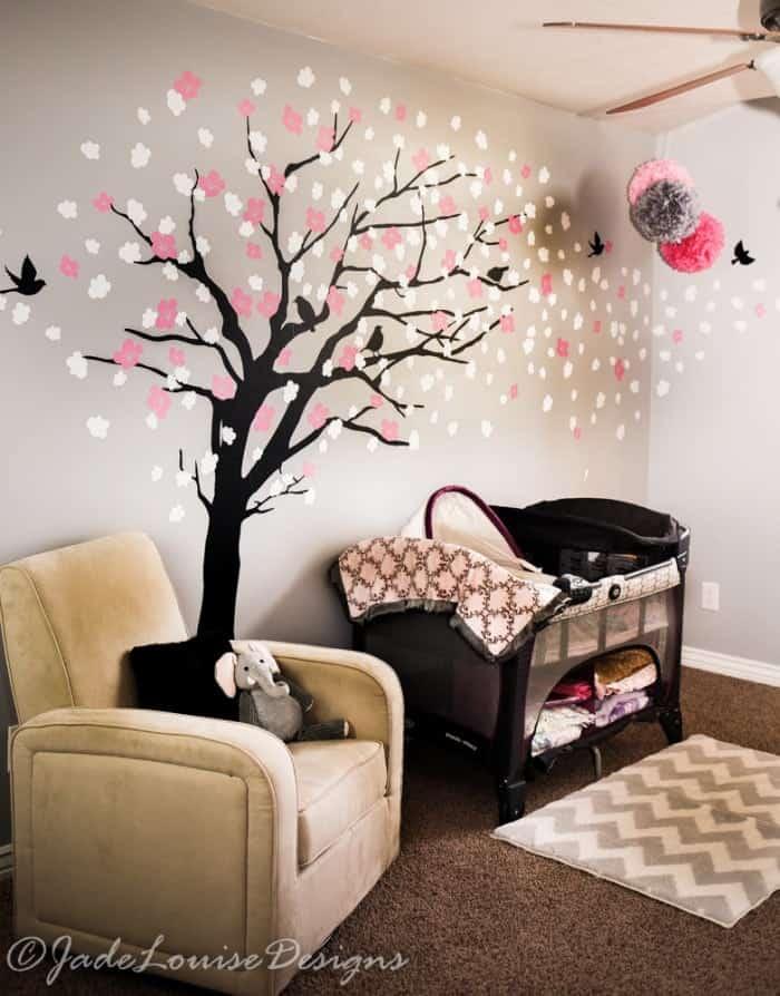 Nursery Reveal - Baby Room Ideas for sleeping corner